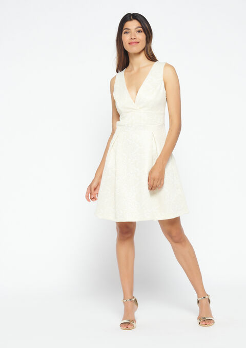 Elegante jurk - GOLD CHAMPAGNE - 08100734_1126