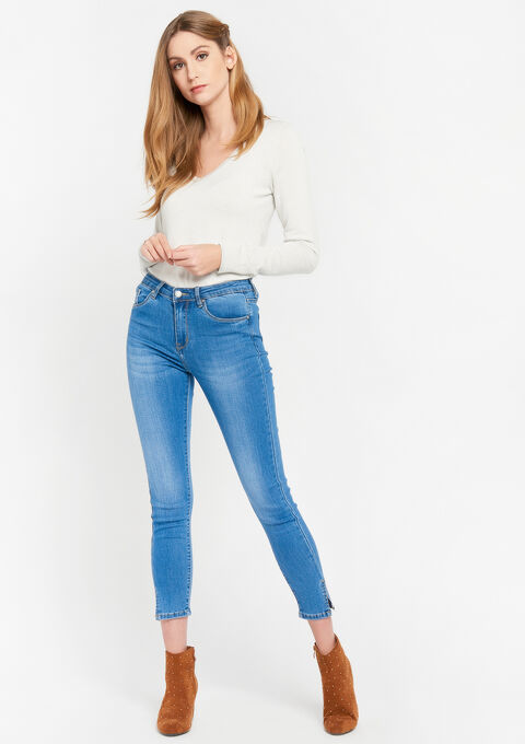 Skinny jeans - MEDIUM BLUE - 22000223_0500