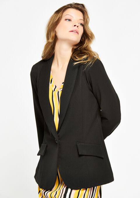 Classic blazer - BLACK - 09100162_1119