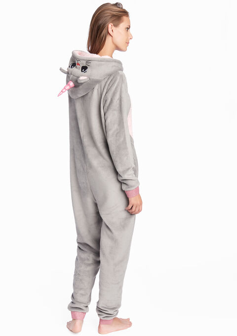 Fantasie onesie unicorn stijl - MEDIUM GREY MEL - 15000387_1068