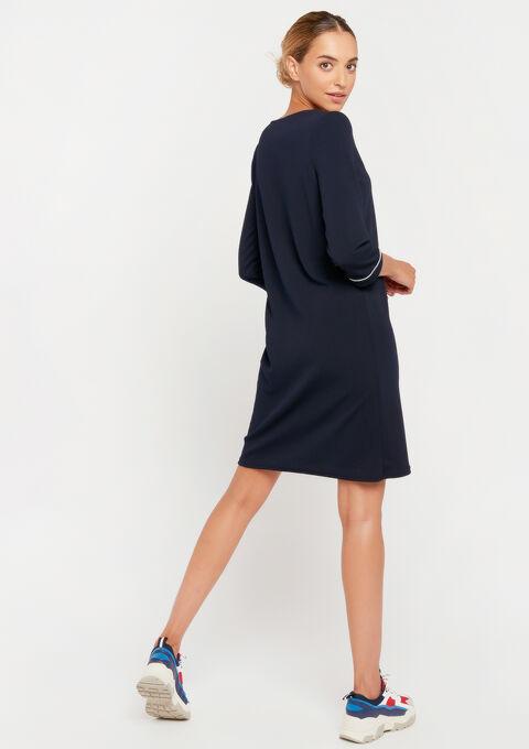 Robe mini droite - NAVY BLUE - 08101595_1651