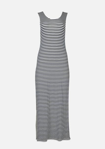 Maxi robe rayures - NAVY BLUE - 08601076_1651