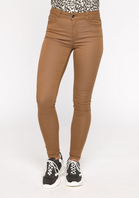 Skinny broek - CAMEL DESERT - 06003892_3815
