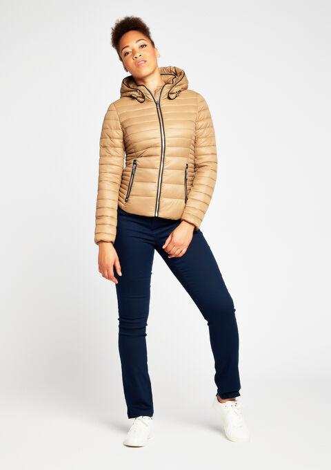 Gewatteerde jas met kap - SANDY - 900080