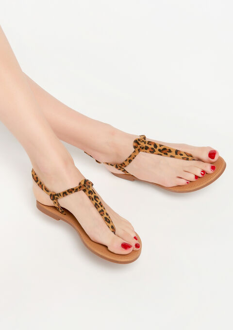 Sandals - BROWN SHELL - 13000458_3703