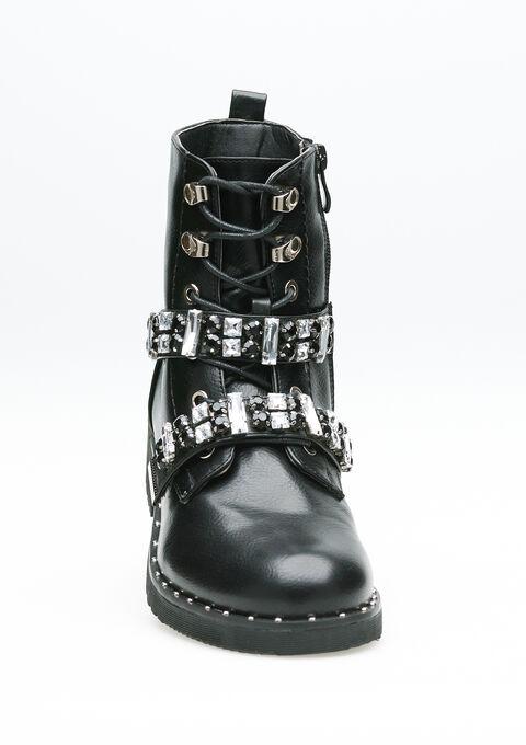 Bottes militaires - BLACK - 969096