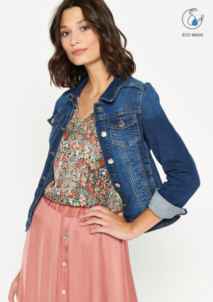 Veste en jean - MEDIUM BLUE - 09100399_0500
