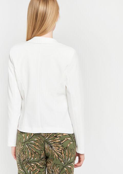 Klassieke blazer - WHITE ALYSSUM - 09100169_2502