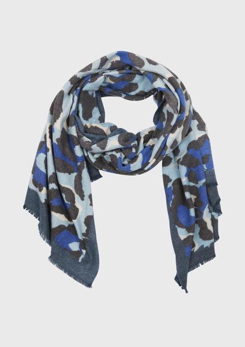 Sjaal met luipaardprint - BLUE ELECTRICAL - 930081