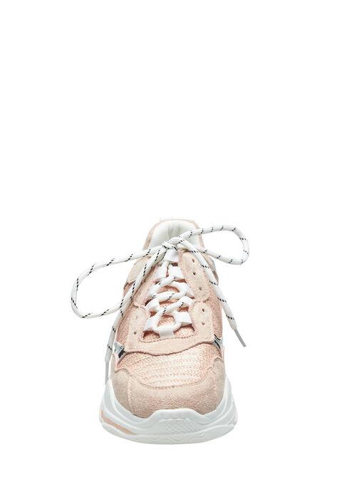Trendy sneakers met dikke zool - PINK CALM - 13000373_4102
