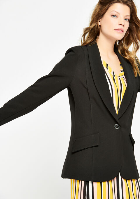 Klassieke blazer - BLACK - 09100162_1119