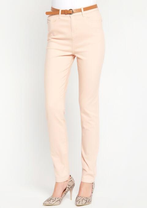 Slim fit broek met hoge taille - PINK BLADE - 06003764_5715