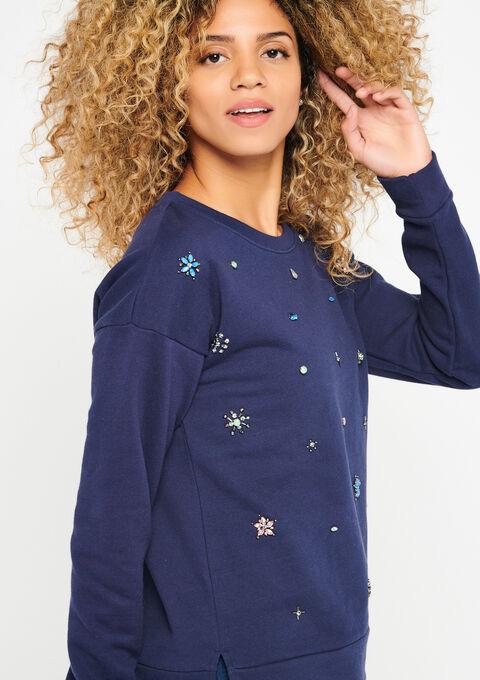 Sweater fantasie - NAVY MARINE - 03001245_1650