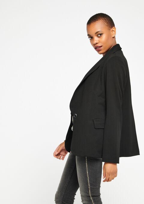 Klassieke blazer - BLACK - 09100125_1119