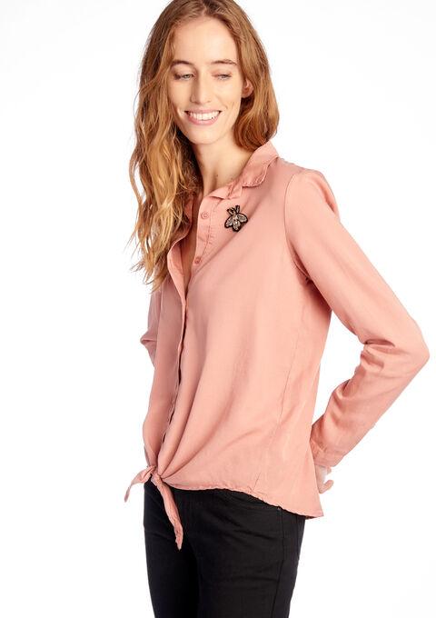 Hemd met broche - ROSE BRUME - 05003125_1438