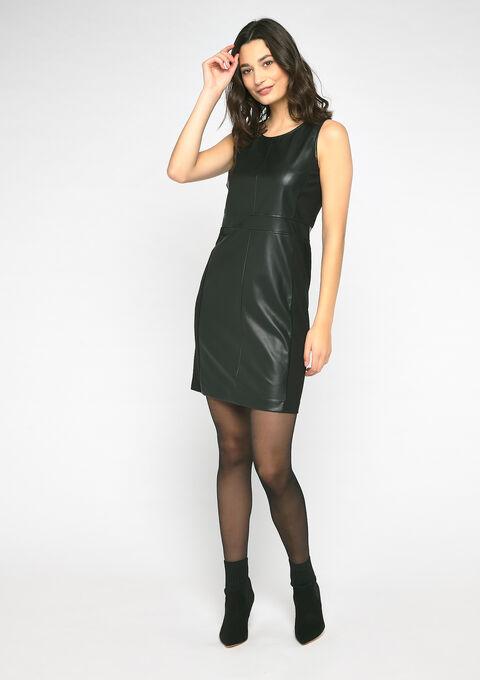 Mouwloos bodycon jurk - BLACK - 08100709_1119