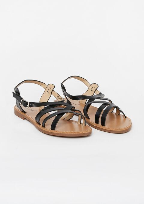 Flat sandals - BLACK - 13000455_1119