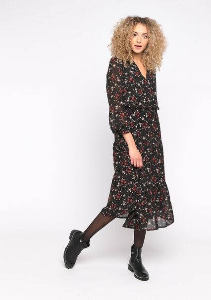 Robe chemise imprimé fleurs - MANGO PINK - 08601022_5616
