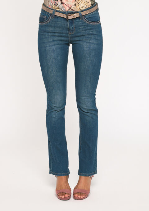 Bootcut jeans - MEDIUM BLUE - 22000119_500