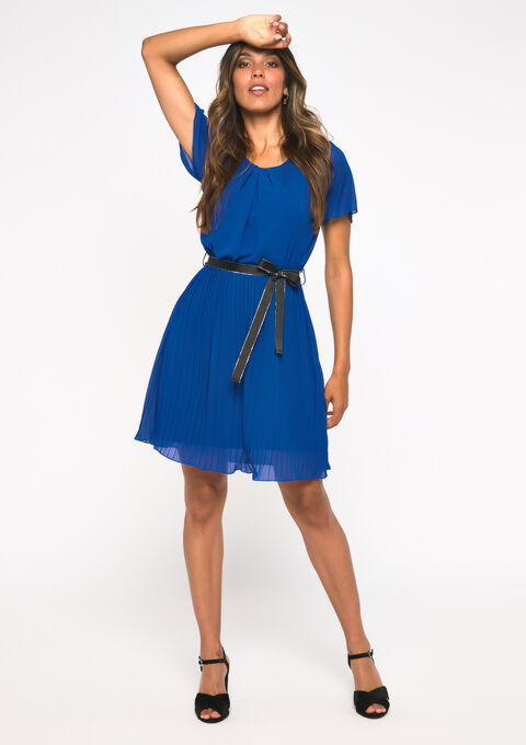 Robe droite voile - BLUE ELECTRICAL - 08101565_2805
