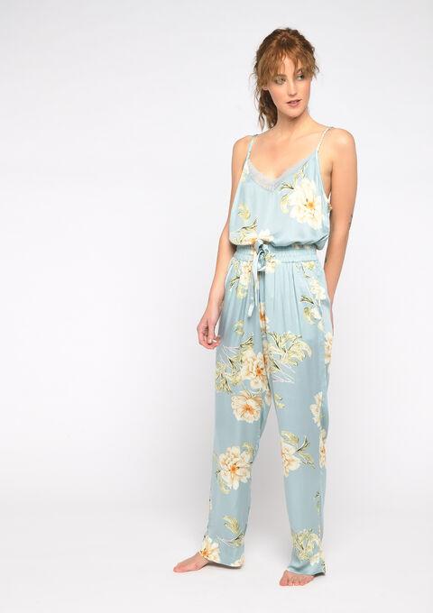 Pyjamabroek met strik - GRAY MIST - 15100027_1580