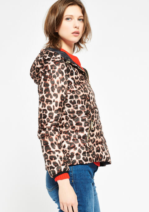 Gewatteerde jas, omkeerbaar - BLACK - 23000044_1119