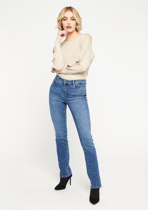 Rechte jeans - MEDIUM BLUE - 22000166_500