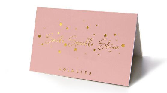 Carte cadeau  - LIVE LOVE SPARKLE - 927468