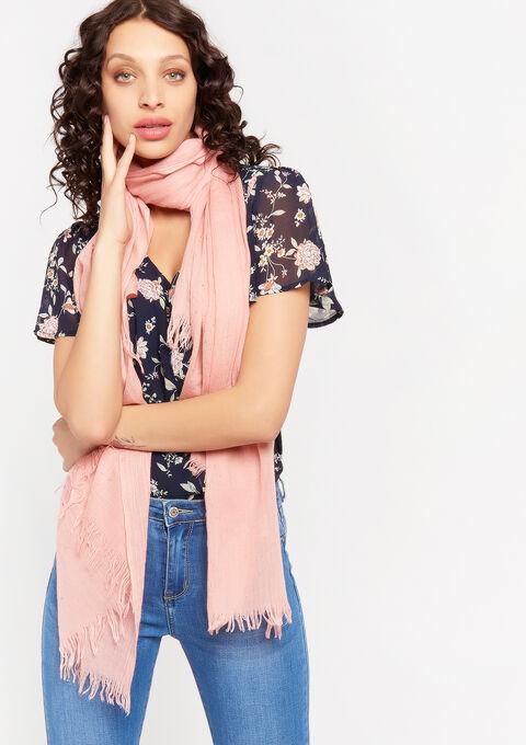 Sjaal met studs - NUDE PINK - 996307