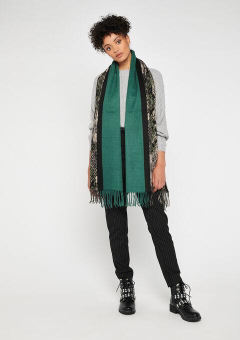 2 kleuren sjaal - GREEN RANKING - 972746