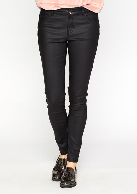 Coated broek - BLACK - 06003190_1119