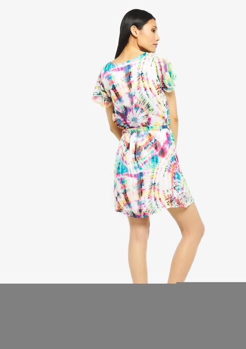 Dip dye jurk - FUSCHIA PINK - 949703