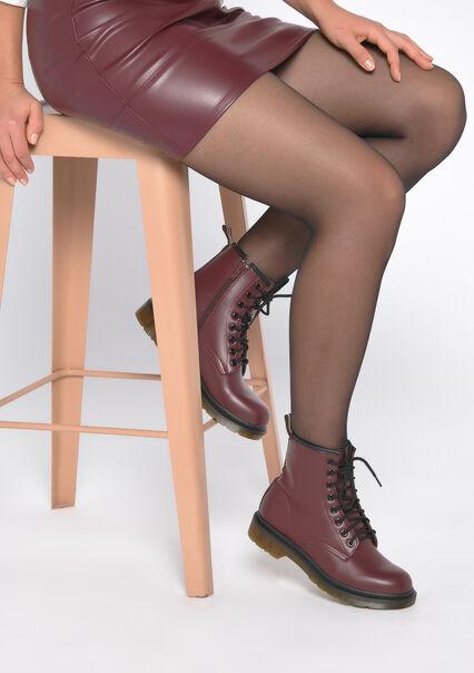 Lace-up boots - BORDEAUX - 13100032_1423
