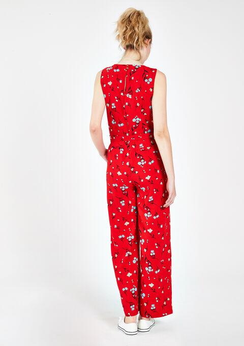 Jumpsuit met bloemenprint - RED GOJI - 06003272_5300