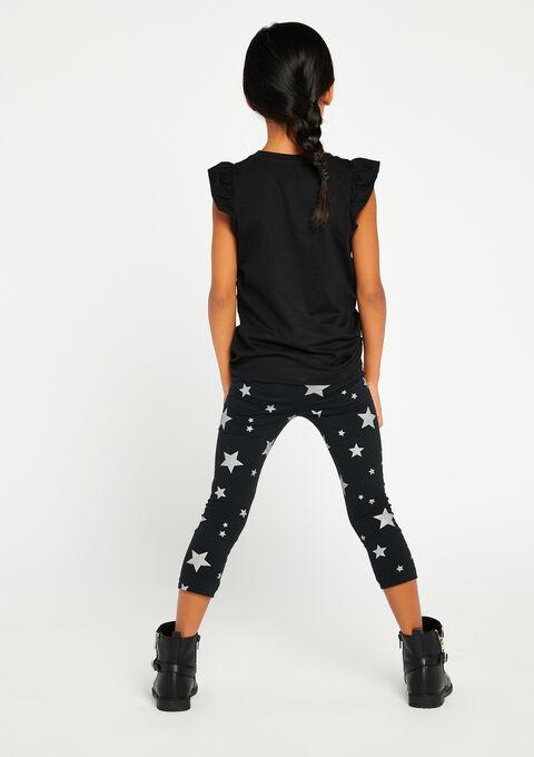 Legging met sterren - DARK GREY - 06003707_931