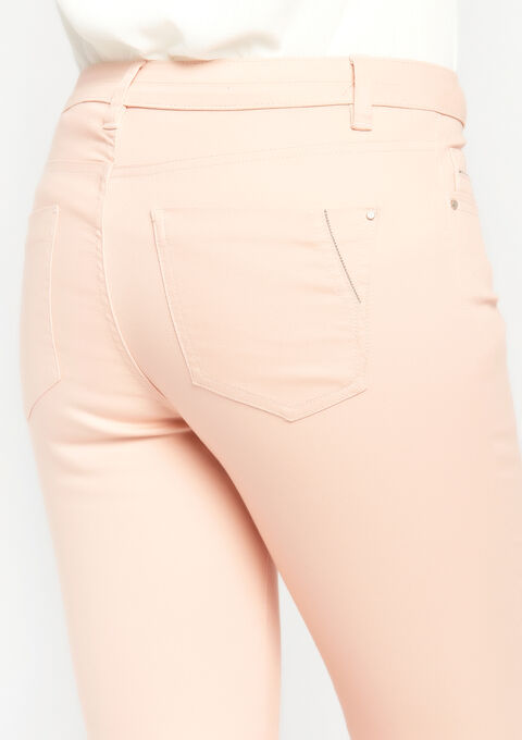 Slim fit broek met normale taille - EVENING SAND - 06003557_5807