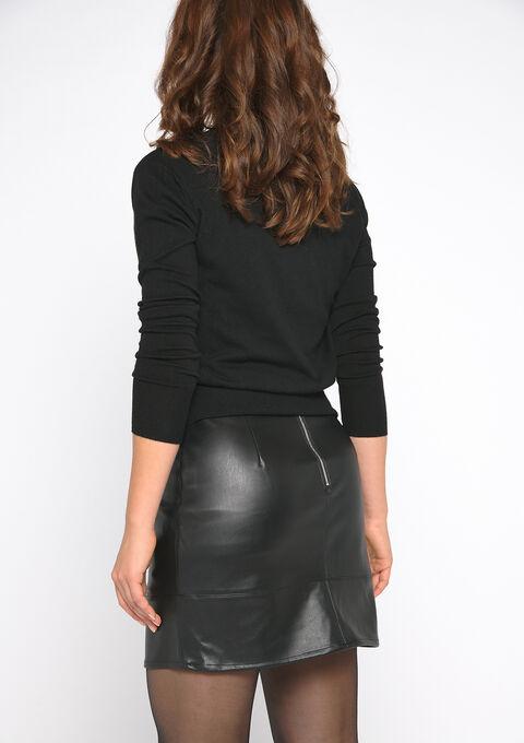 Basic cardigan - BLACK - 04100641_1119