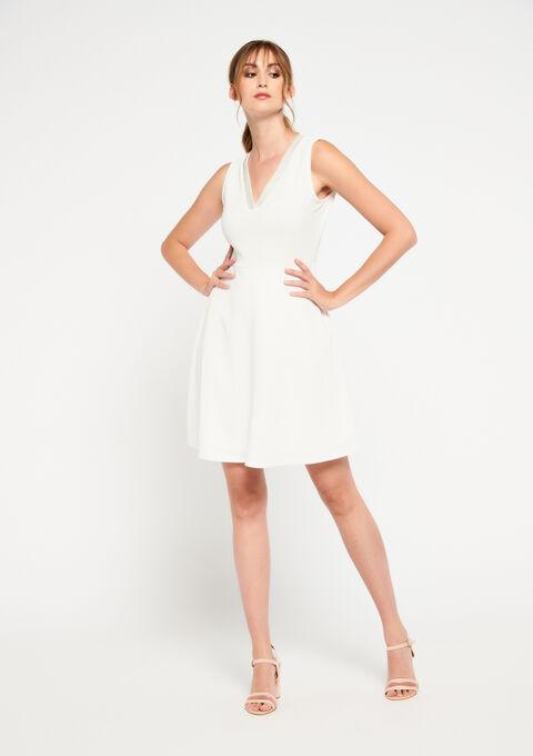Robe patineuse - WHITE ALYSSUM - 08101237_2502