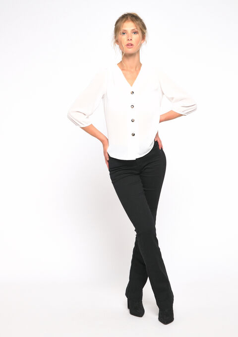 Blouse avec boutons - OFFWHITE - 05700590_1001