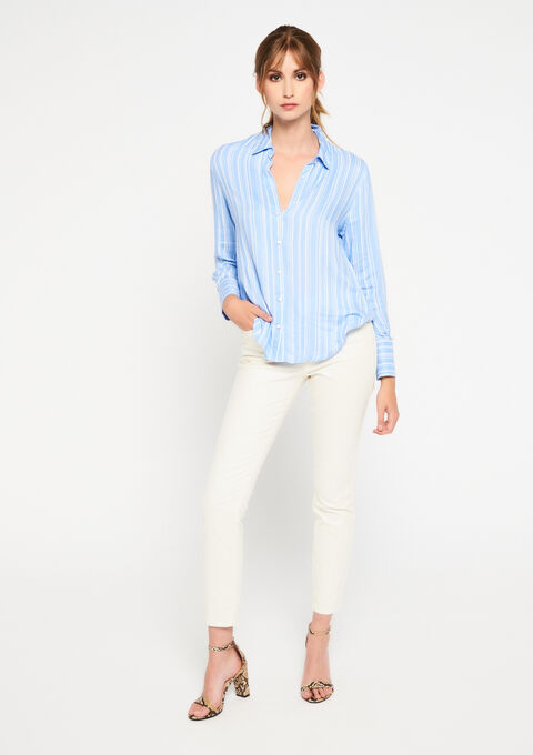 Shirt with stripes - REGATTA BLUE - 05700544_1547