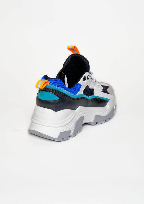 Sneakers multicolores - FLUO ORANGE - 13000464_1242