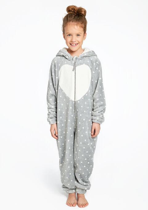 8e46110222002 Combinaison pyjama enfant fantaisie - GREY - 15000263_1062