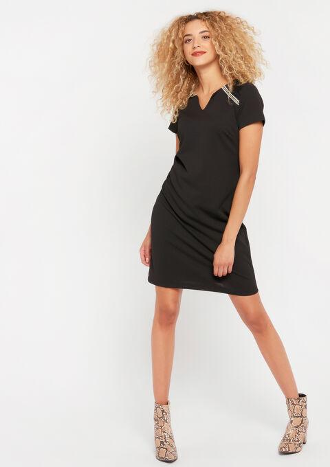 Robe mini droite - BLACK - 08101596_1119
