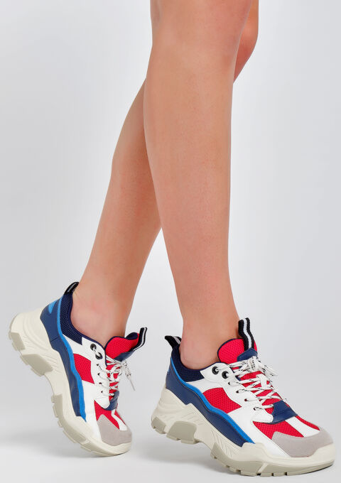 Sneakers multicolores - FLAME RED - 13000464_1309