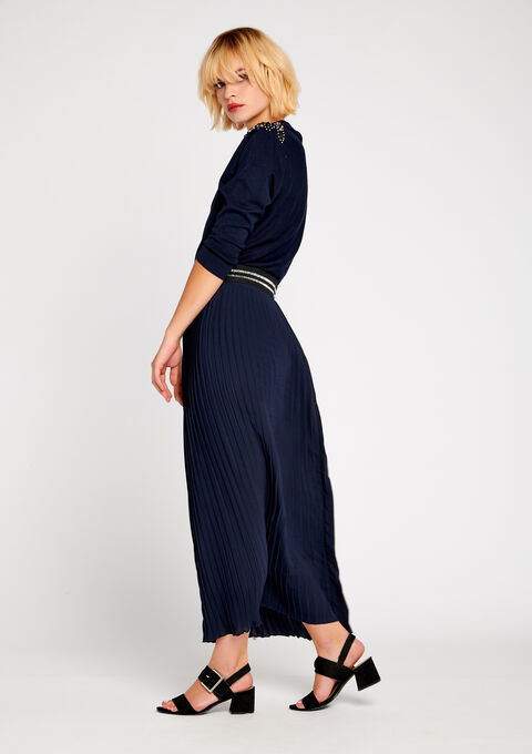 Maxi skirt, pleaded - LolaLiza