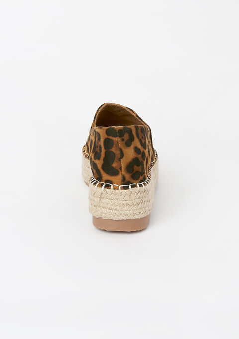 Espadrilles with leopard print - BEIGE TIGER - 13200003_1155