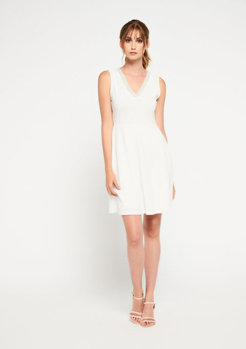 Robe patineuse - WHITE ALYSSUM - 08101237_2502