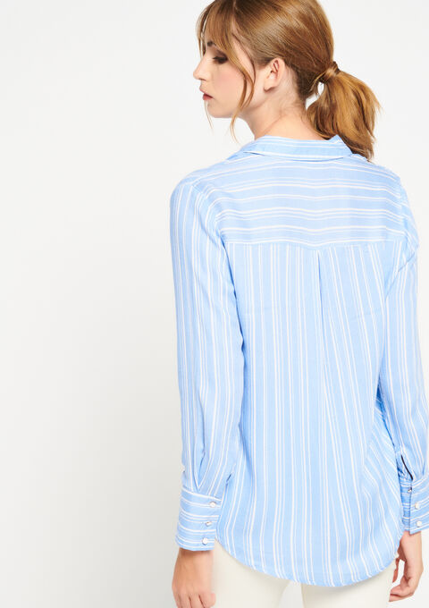 Chemise à rayures - REGATTA BLUE - 958965