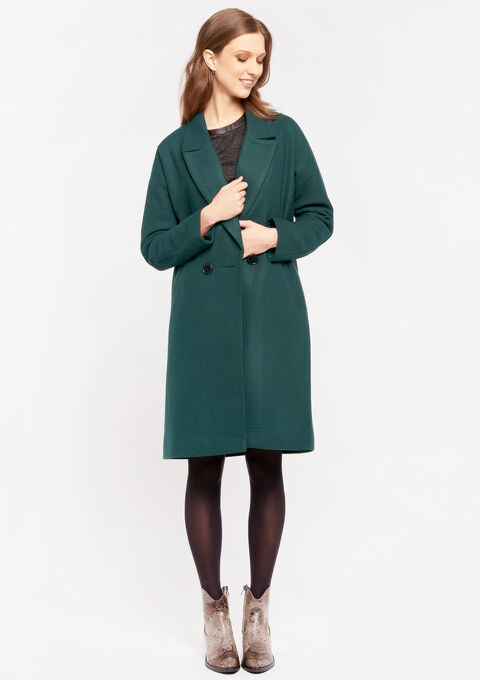 Manteau oversize - GREEN RANKING - 23000151_4611