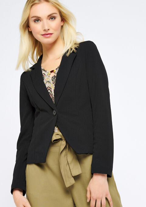 Klassieke blazer - BLACK - 09100169_1119